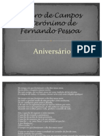 Álvaro de Campos heterónimo de Fernando Pessoa