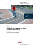 3d Preserving and Expanding the Role of Non-motorised Trans