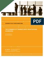 The Dynamics of Transatlantic Negotiations in Services