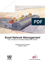 Road Network Management. Roads - A New Approach for Road Net