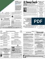 Feb 5 Bulletin