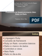 Palestra Ruby on Rails