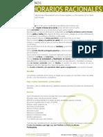 Manifiesto Por Unos Horarios Racionales + Hojas de Firmas Abril 2010