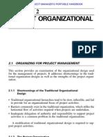 Project Organizational Design