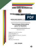 Aprendizaje potenciado por la tecnológia (razones y diseño pedagógico)