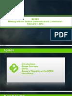 Boxee's presentation to the FCC (Feb 1, 2012)