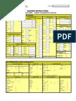 Sumario Estructural Sistema Comprehensivo Exner (Test de Zulliger)