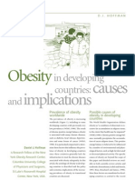 Obesity in Developing Countries Causes and Implications