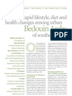 Rapid Lifestyle, Diet and Health Changes Among Urban Bedouin
