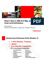 R12 Mfg Supply Chain and Distribution