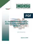El to de La Educacion Superior en Mexico