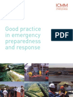 Good Practice in Emergency Preparedness and Response