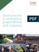 Good Practice in Emergency Preparedness and Response