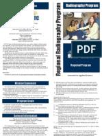 Regional Radiography Brochure 2011-2012