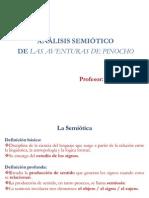 Analisis Semiotico de Las Aventuras de Pinocho