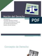 Noción del Derecho (1)