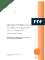 Reflexiones en Torno Al Concepto de Recursos de ion (Sergio Barbosa)