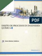 Diseño de Procesos en Ingeniería Química - Arturo Jiménez Gutiérrez