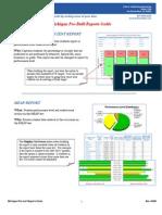 Pre Built Reports Guide MI