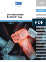 Erp in the Steel Industry Today