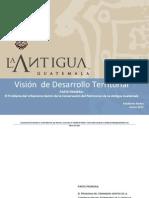 el problema del urbanismo dentro de la conservación de la antigua guatemala