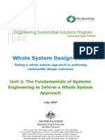 ESSP WSDS - Unit 2 Fundamentals of Systems Engineering