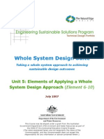 ESSP WSDS - Unit 5 Whole System Design (Elements 6-10)
