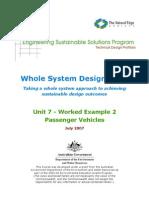 ESSP WSDS - Unit 7 Passenger Vehicles (Worked Example)