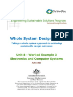 ESSP WSDS - Unit 8 Electronics and Computer Systems (Worked Example)