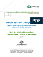 ESSP WSDS - Unit 9 Temperature Control of Buildings (Worked Example)