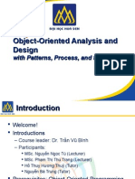 Iteration 1 Object-Oriented Analysis and Design