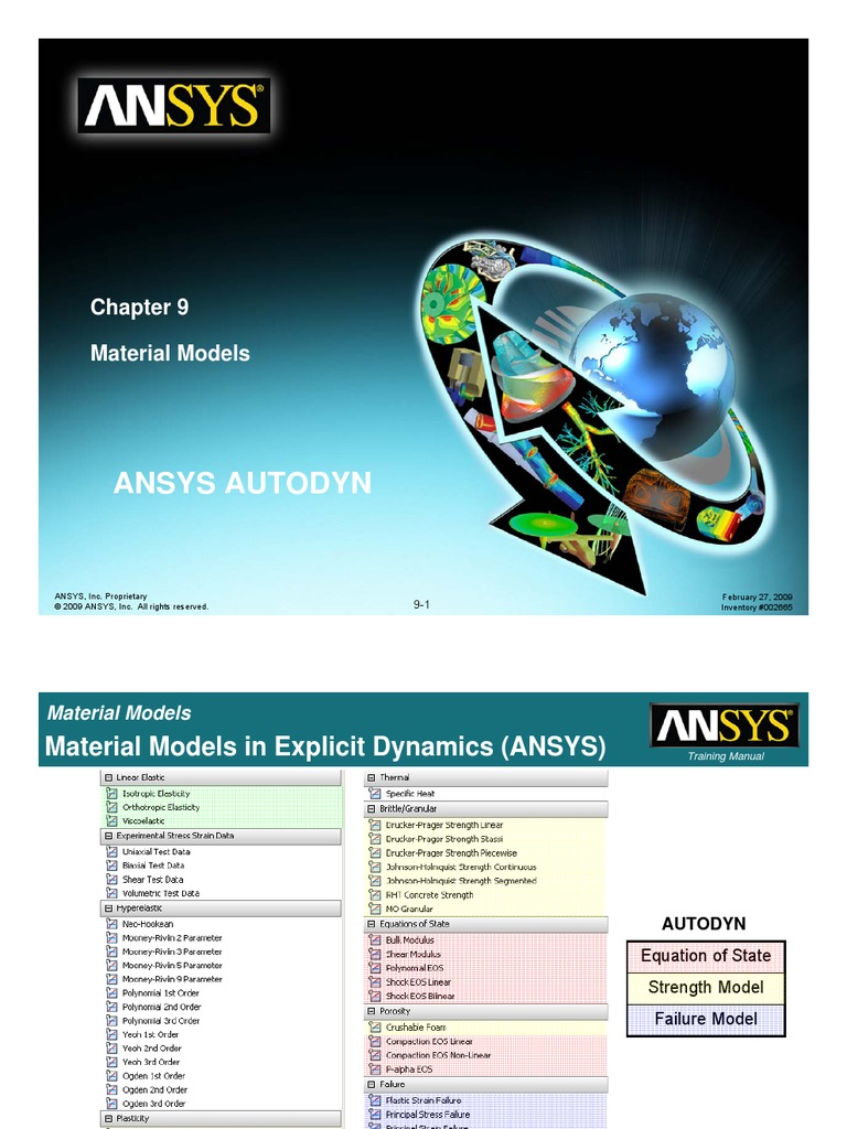 Ansys autodyn chapter 9 material models explosive material ansys autodyn chapter 9 material models explosive material stress mechanics fandeluxe Gallery