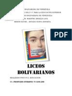 liceos bolivarianos