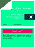 Islamic Debt-Based Securities -1