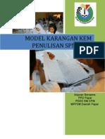 Model Karangan Kem Penulisan - Format 2007