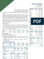 Market Outlook 7th February 2012