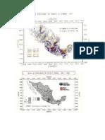 Mapa Isoceraunico de Mexico