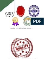 Seminar on Quality Assurence