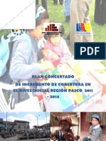 Proyecto Ampliacion de Cobertura en Educacion Inicial 2011-2014 Pasco