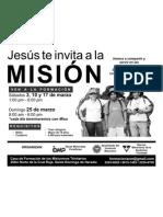 Invitacion a mision