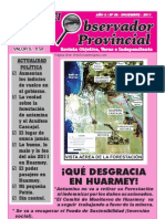 El Observador Provincial - Diciembre 2011