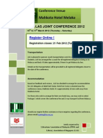 PPM-LAS JOINT CONFERENCE 2012