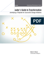 A Leaders Guide To Transformation