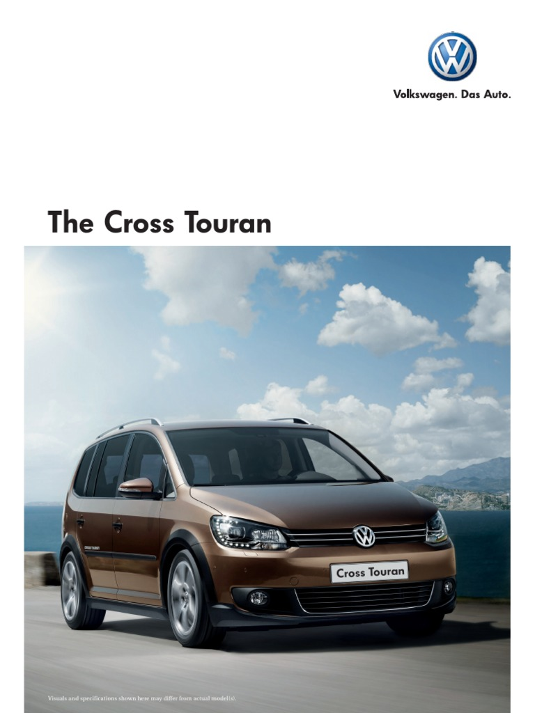 Cross Touran Brochure Headlamp Transmission Mechanics Vw Wiring Diagram Pdf