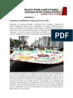 Bancada Nacionalista Gana Perú - Boletin Nº 14