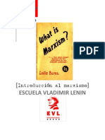 Introduccion al marxismo - Emile Burns (edición revisada para EVL) (1)