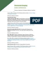 Aspiration Pneumonia Imaging