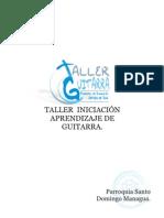 Taller de Guitarra Folleto 1