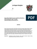 [Paper] ENR - Kebijakan Transfer Senjata Indonesia
