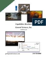 General Sciences, Inc- Capabilities Brochure